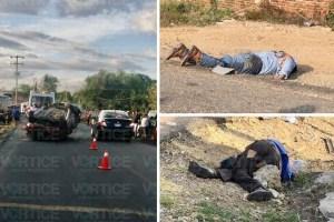 Volcadura deja dos muertos en Chiapa de Corzo