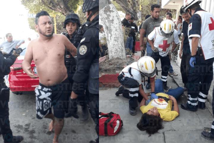 Joven se lanza de un edificio para escapar de presunto secuestro