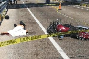 Muere dama tras accidente de motocicleta en Tuxtla