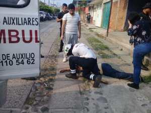 Acribillan de 6 balazos a peatón en Tapachula