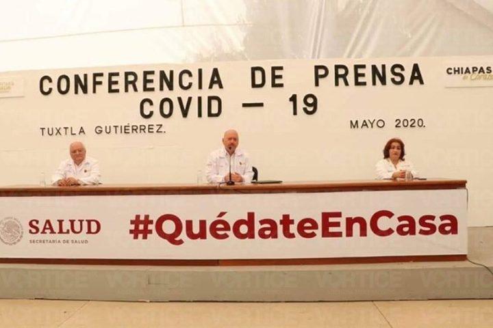 ¡Jornada negra en Chiapas! 5 muertos por COVID 19 y 29 casos positivos