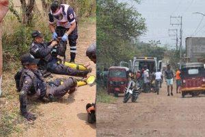 Balean a dos policías de Cintalapa durante intensa persecución