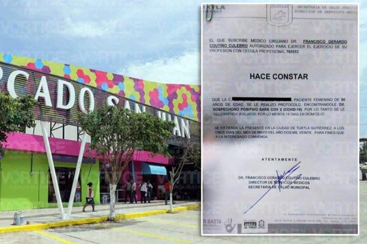 Muere empleada del Ayuntamiento de Tuxtla por presunto COVID 19