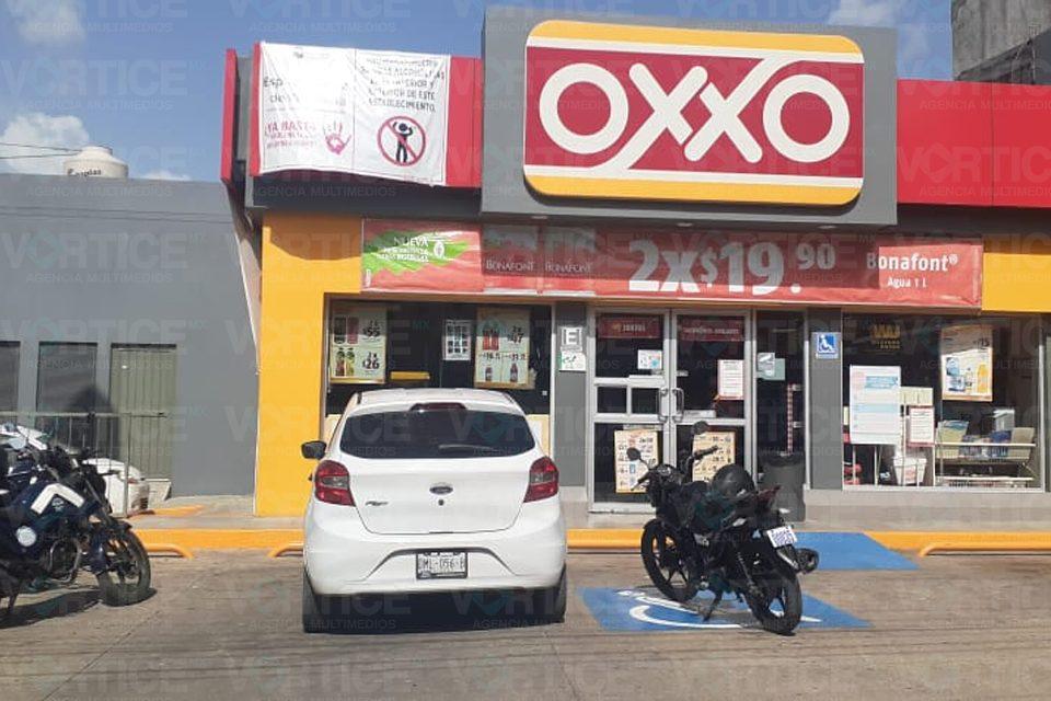 Asaltan dos tiendas OXXO en Tuxtla, en menos de 24 horas