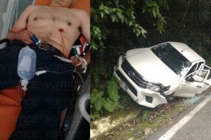 ¡Asalto millonario! Emboscan a empleados del Ayuntamiento de Tapilula