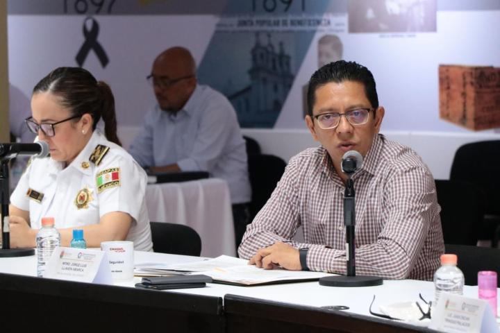 Estrategias de la Mesa Estatal y Regional garantizan la seguridad y justicia en los municipios: Llaven Abarca