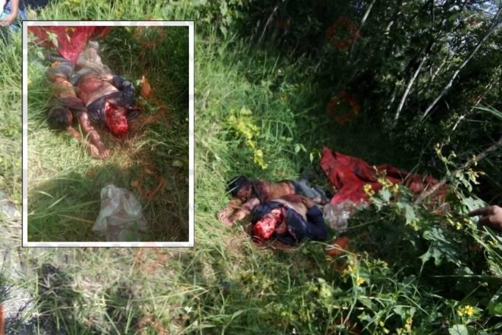 Hallan dos cadáveres más en un banco de grava en Tila