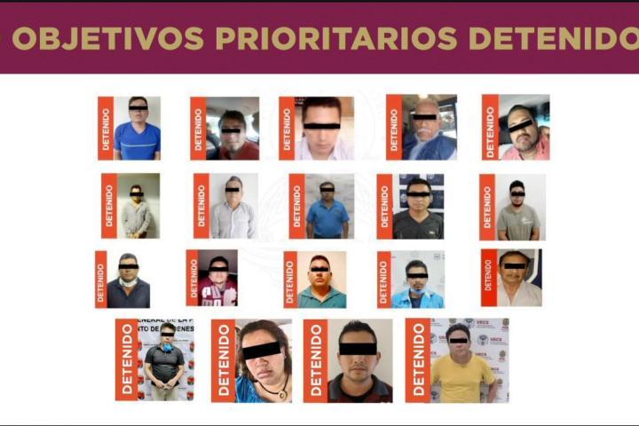 FGE localiza y detiene a decimonoveno objetivo prioritario en materia de secuestro en Chiapas