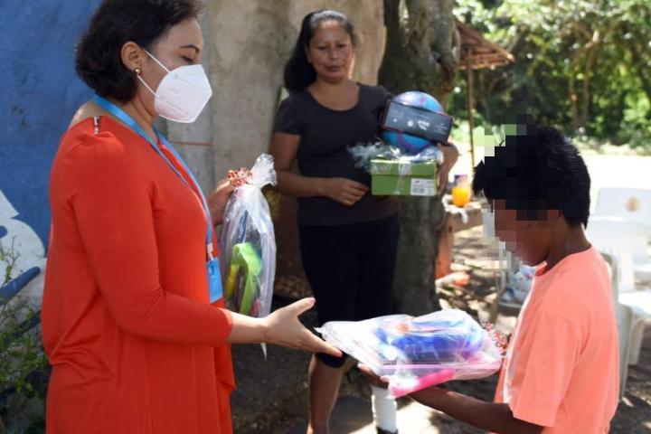 Apoya Voluntariado a menor en situación de vulnerabilidad en Ocozocoautla