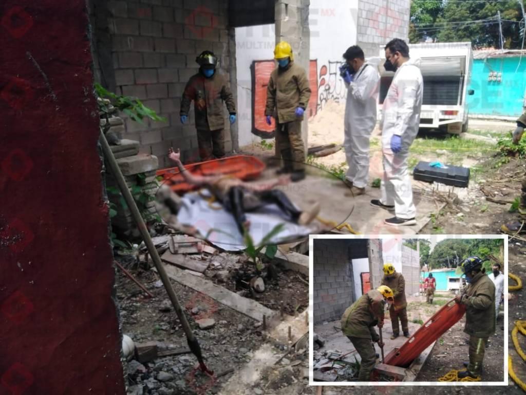 Localizan cadáver putrefacto dentro de una cisterna en Tuxtla