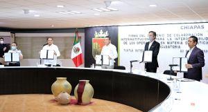 En colaboración, eficientamos la procuración e impartición de justicia en Chiapas: Rutilio Escandón