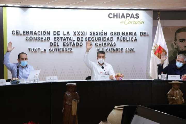 Exhorta Rutilio Escandón a alcaldesas y alcaldes a seguir trabajando por la seguridad de sus municipios