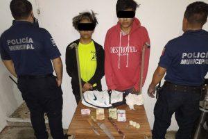 Caen presuntos asaltantes de tiendas Oxxo en San Cristóbal