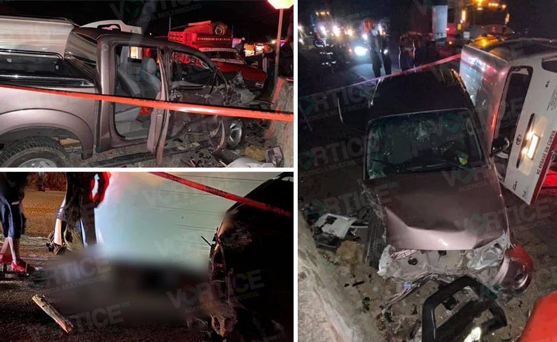 Carreterazo en Comitán deja dos muertos y 10 heridos