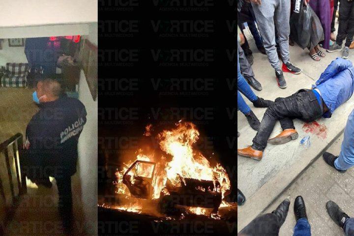 Impera inseguridad en San Cristóbal; dos asaltos y disturbios en 3 días