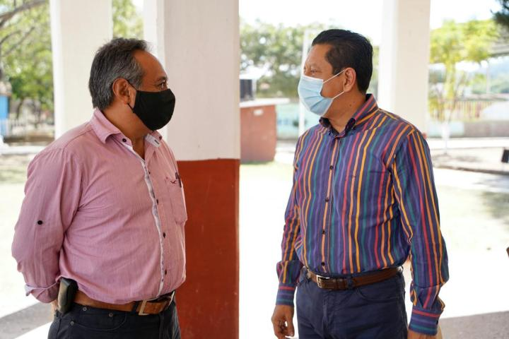 Se reúne Llaven Abarca con líderes de la zona sur de Ocozocoautla