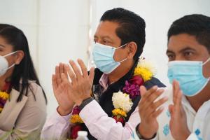 Desde Bochil reconoce Llaven trabajo del gobernador para recobrar la confianza de las comunidades