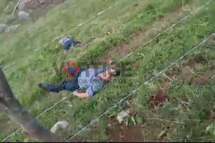 Confirman seis muertos tras enfrentamiento en Ixhuatán