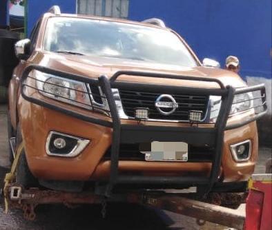 Recupera SSyPC en Reforma vehículo con reporte de robo en Jalisco
