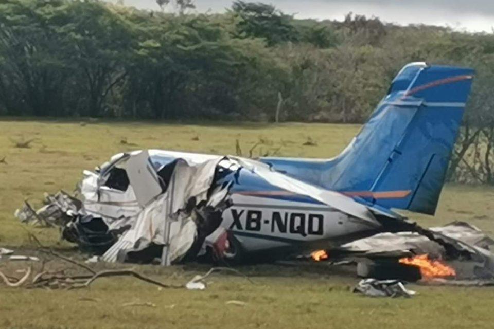 Se desploma aeronave en Chiapas; hay varios heridos