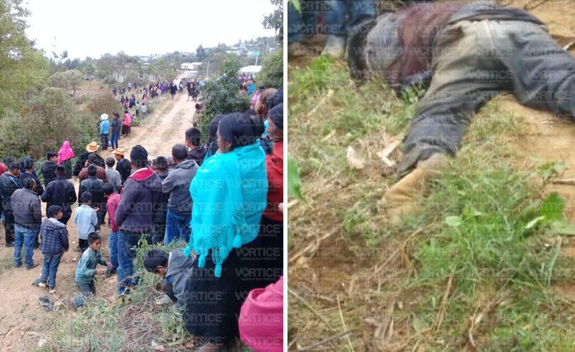 Hallan cadáver en comunidad de San Juan Chamula