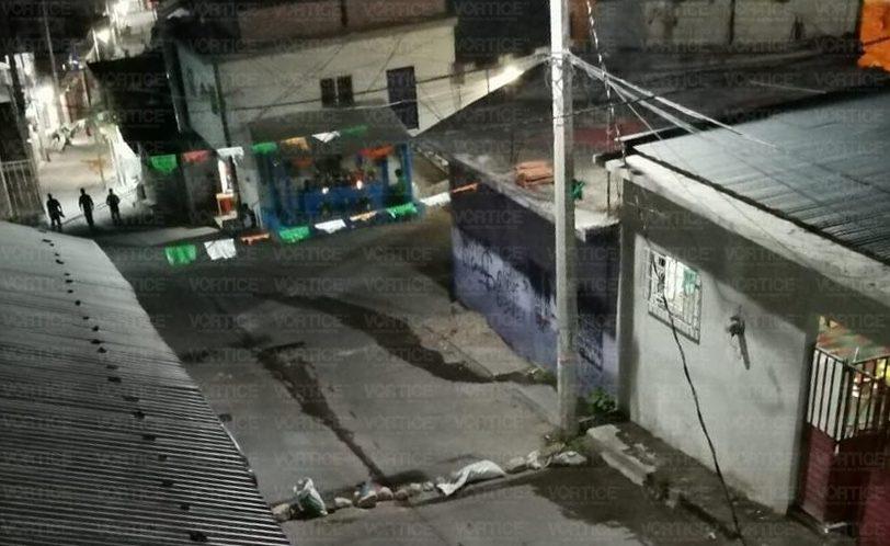 Se desata balacera en Venustiano Carranza