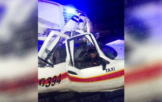 Muere taxista tras encontronazo con un tráiler en Rancho Nuevo
