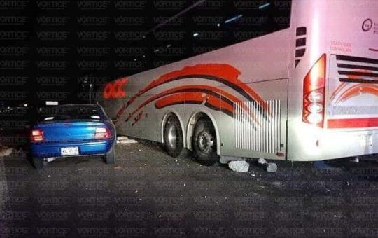 Asaltan pasajeros de un autobús OCC cerca de Mitzitón