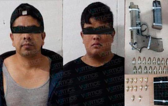 Detienen a hombres armados en San Cristóbal tras realizar detonaciones
