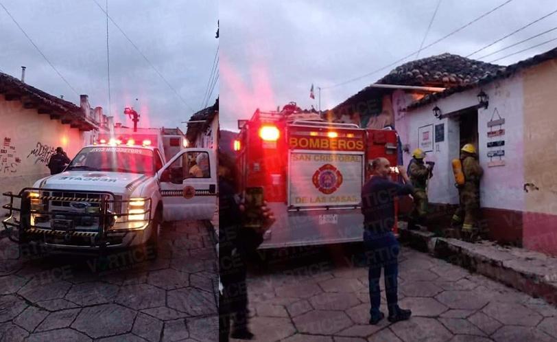 Se incendian dos viviendas en San Cristóbal
