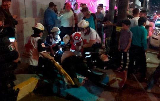 Muere joven tras ser golpeado en la zona de bares de Tuxtla