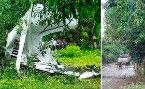 Muere piloto tras desplome de avioneta en Tapachula