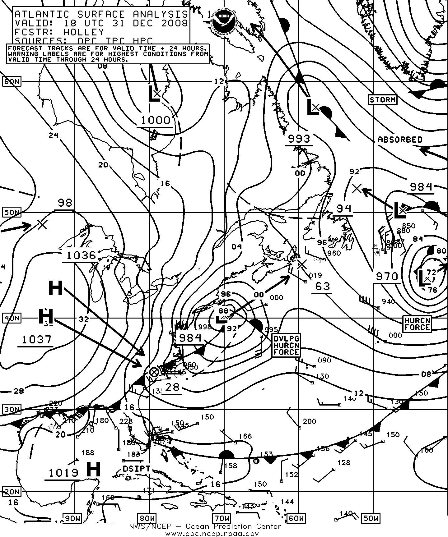 Mariners Weather Log Vol. 53, No. 1, April 2009