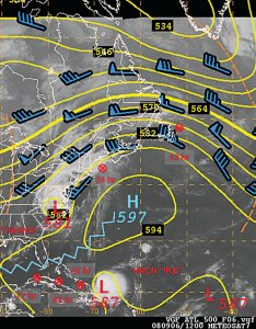 mb height winds and satellite image also mariners weather log vol no december rh vosaa
