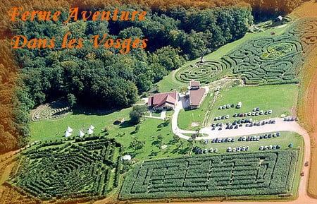 La Ferme Aventure parc de loisirs familial dans les Vosges
