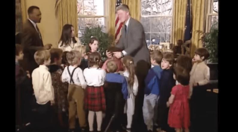 The Girl Whose Hair Caught Fire At Bill Clinton's Hanukkah Event 1