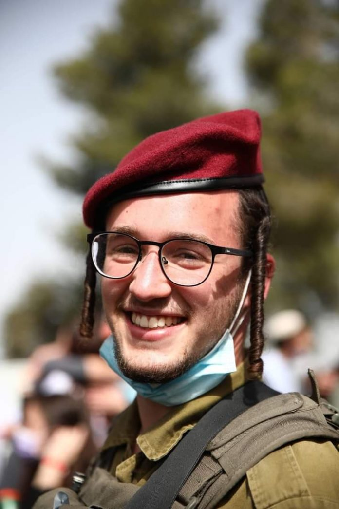 Watch: Chareidi Paratroopers Train In Yiddish 1