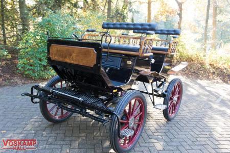 Koets Boheme 06230 voskamp hall recreatiewagen vooraanzicht