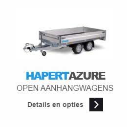 Hapert-Azure-open-aanhangwagen