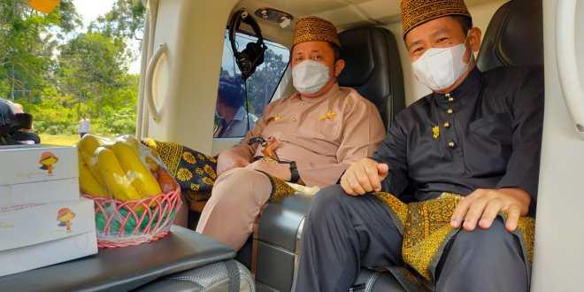 Gubernur Herman Deru bersama Wakil Bupati Inayatullah
