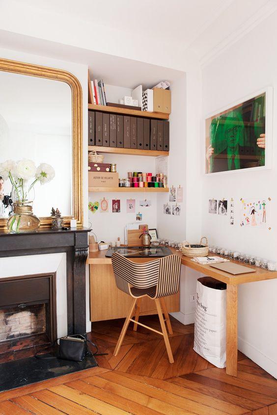 Amnager son espace bureau dans le salon  Vos Plans Sur La Comte Architecte Val de Marne 94