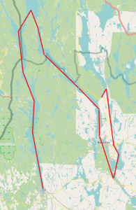Our Trip from Ed, over Bengstfors to Lennartsfors