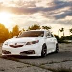 Nip Tuck Tl Acura Tl Vossen Cv3 Concave 20x10 5 Vossen Wheels