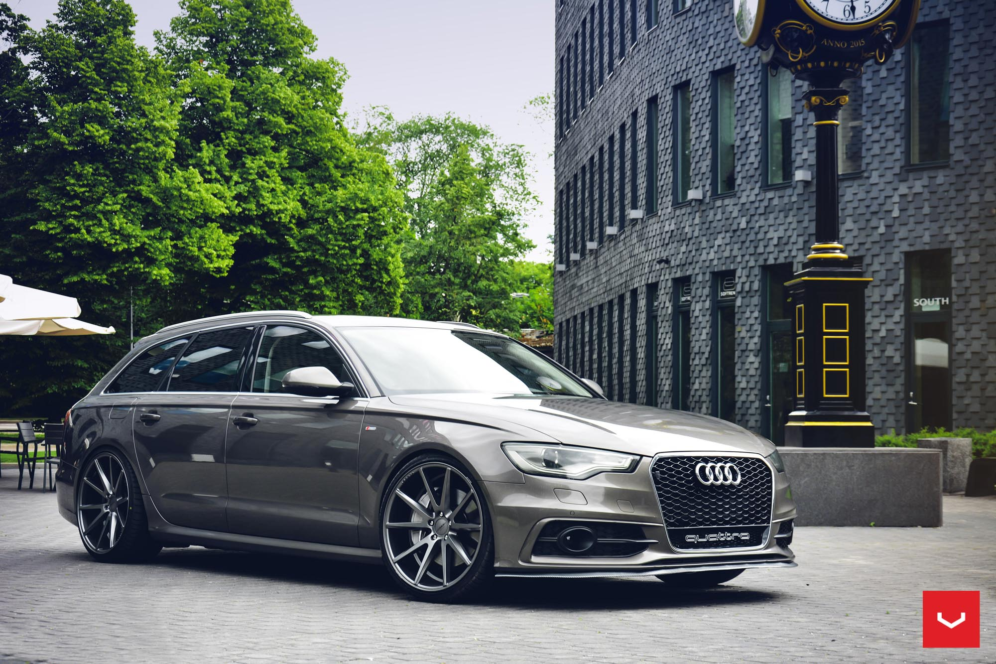 Audi A6 Hybrid Forged Series Vfs 1 Vossen Wheels
