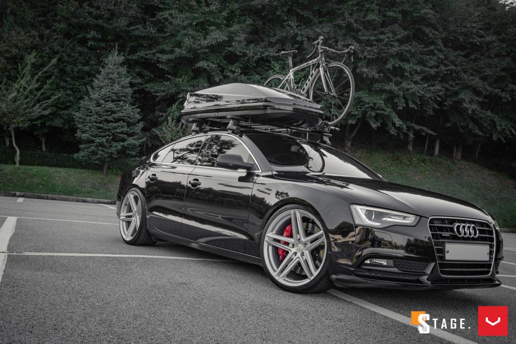 audi a5 hybrid forged series vfs 5 vossen wheels