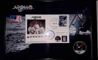 Памятное гашение к 50-летию «Аполлона-11»