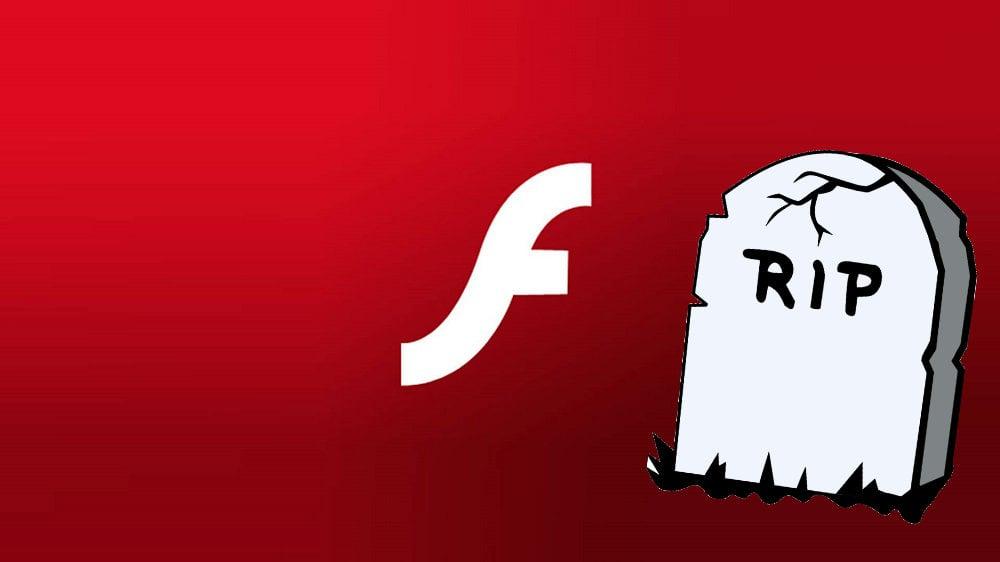 r.i.p. adobe flash player