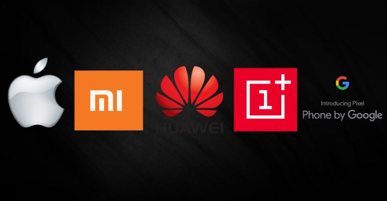 apple xiaomi huawei oneplus google
