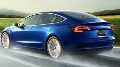 Tesla Model 3 cena