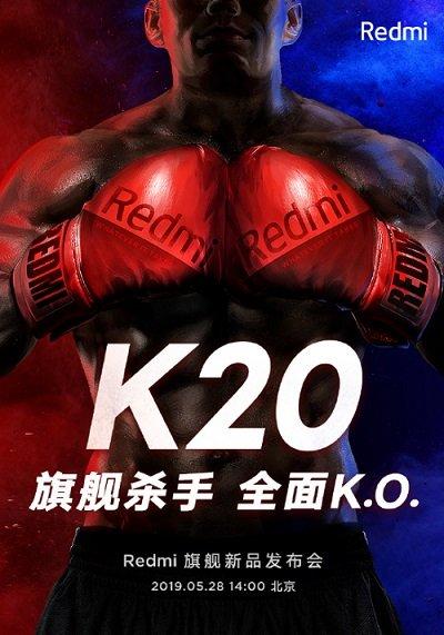 Xiaomi Redmi K20 oficialne predstavenie